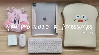 "🍎 Unboxing IPad Pro 2020 12.9"" with accessories 📦✨"
