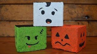 Create Recycled Halloween Wood Blocks - Diy Home - Guidecentral