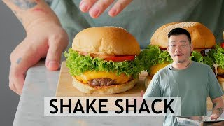 RESEP CHEESE BURGER ALA SHAKE SHACK