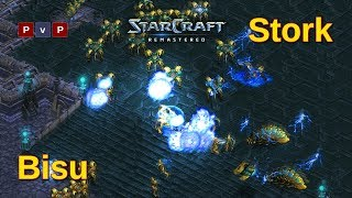 The return of the protoss king - Bisu or Stork? - Starcraft remastered