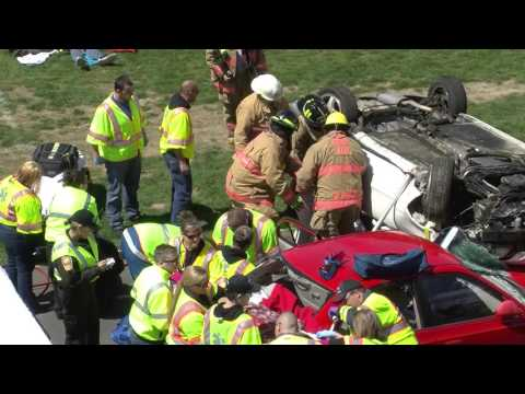 Auburn High School Mock Crash 4-8-2016