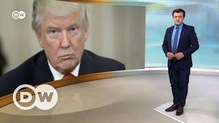 Американские горки  Дональда Трампа  100 дней у власти   DW Новости (28 04 2017)