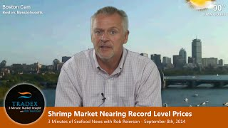3-minute Market Insight - Shrimp Market Nearing Record Level Prices, Pollock At Low Prices