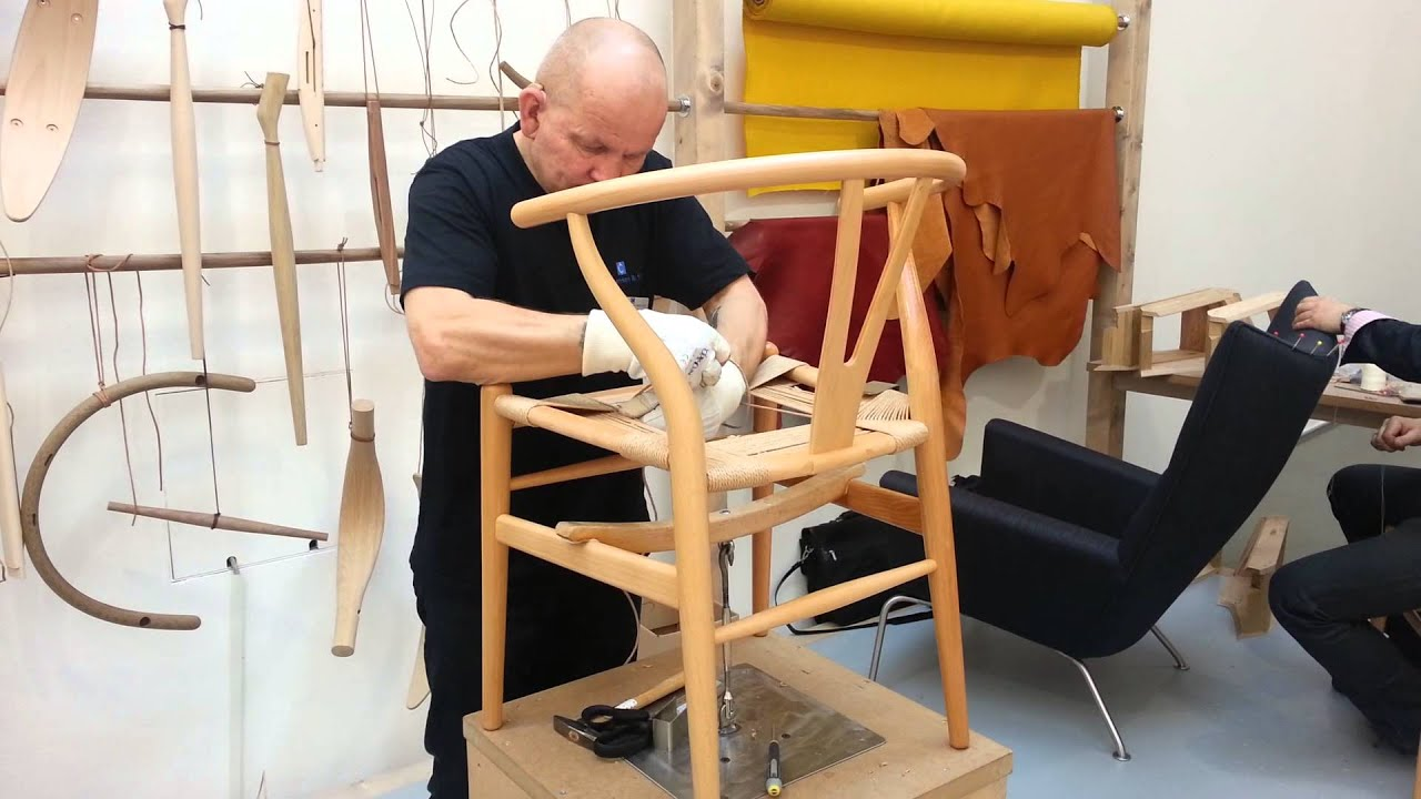 Making of the Wishbone Chair