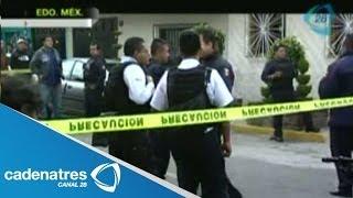 Asesinan en Nezahualcoyotl a 5 integrantes de una familia