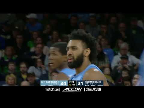 North Carolina vs Notre Dame College Basketball Condensed Game 2018