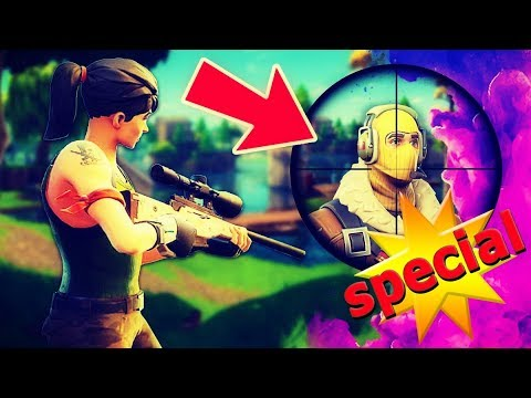 SNIPER ONLY ! Challenge [ 10K SUBSCRIBER SPECIAL ] ( Fortnite Battle Royale ) - ქართულად [REDZERG]