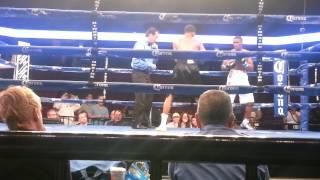 Alex Martin fight