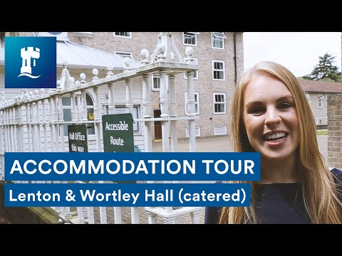 Uni Park Campus - Lenton and Wortley Hall tour (catered accommodation)