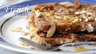 Sweet French Toast Recipe With Coconut | Easy Kids Breakfast Recipe Ideas By Shilpi