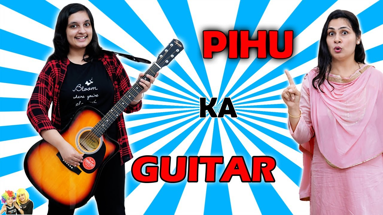 PIHU KA GUITAR | A Short Movie | Aayu and Pihu Show