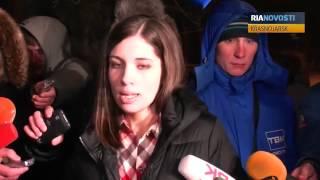 Pussy Riot in Freiheit: Erste Statements von Tolokonnikowa und Aljochina