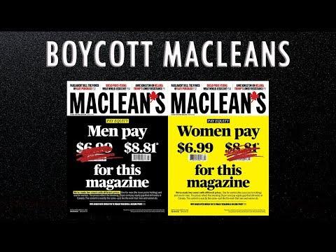 Maclean's PR Stunt