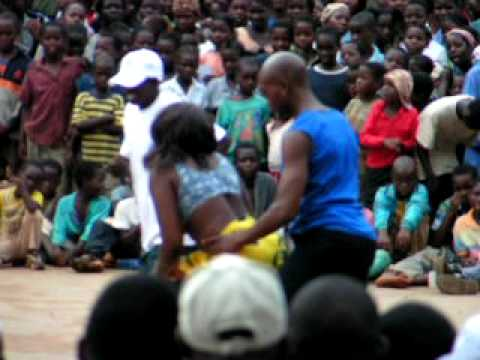 "Dance of mozambique in ""Stop  AIDS "" event, MOZAMBIQUE"