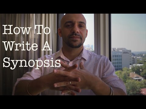 How to write a synopsis : Daniel José Older