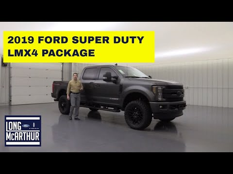 2019 FORD SUPER DUTY LMX4 PACKAGE