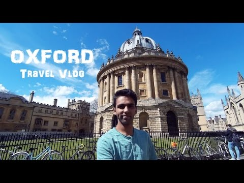 Travel Vlog- A term at Oxford University // 2016
