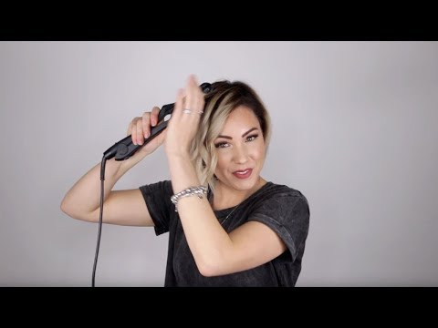 aveda-how-to-|-sleek-accent-curl-tutorial-for-short-hair-with-chloe-brown