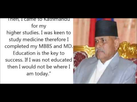 Interview with Rt. Hon'ble President Dr. Ram Baran Yadav from Nepal - Your BIg Year 2013 Task
