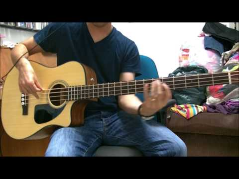 Fender CB-100CE Acoustic-Electric Bass - Demo