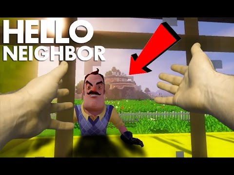 Realistic Minecraft: Hello Neighbor - Neighbor vs The Flash