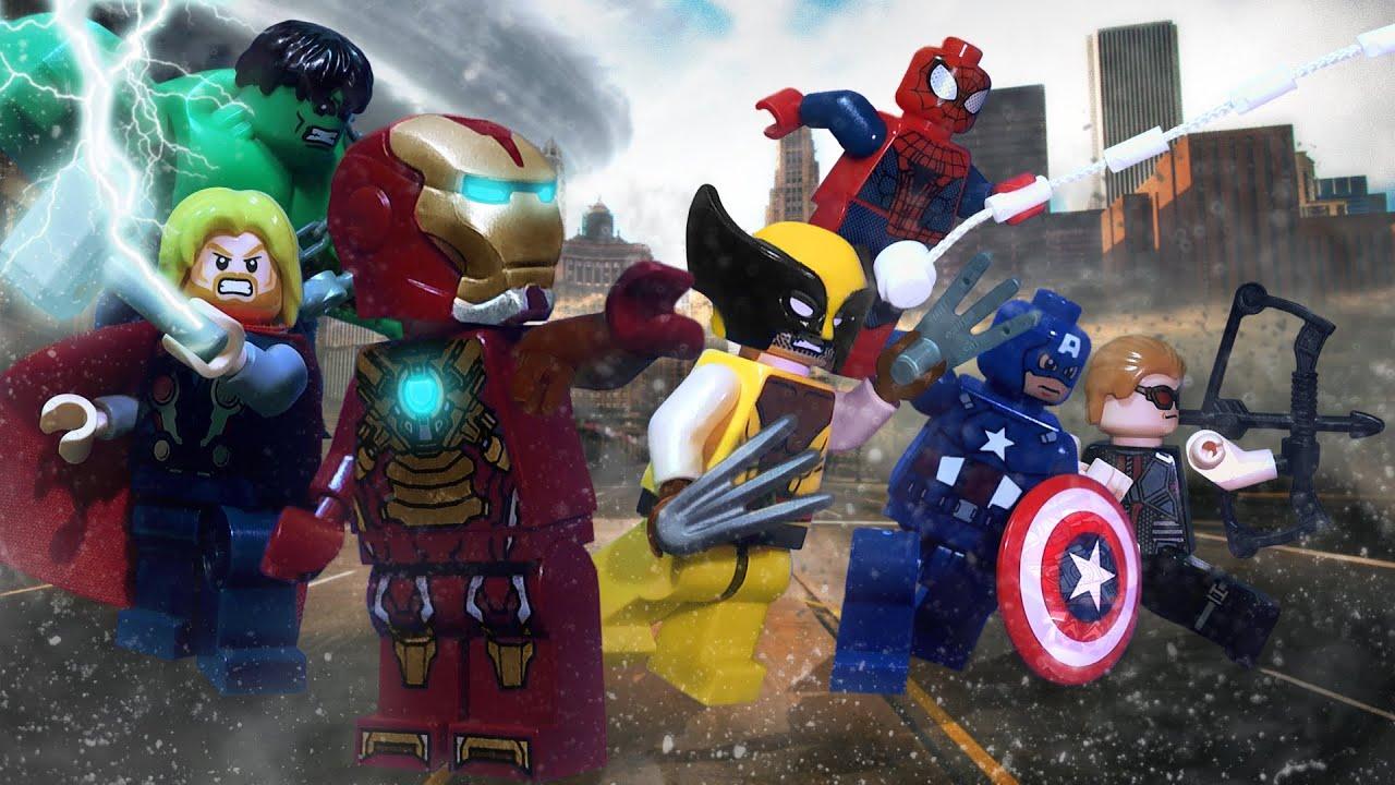 Lego Avengers Rise of Ultron - YouTube