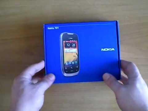 Nokia 701 Review: Unboxing