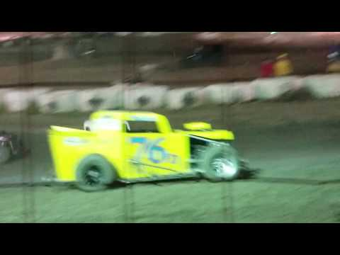 Dwarf car nationals Marysville  Raceway Vet A Main saturday 2018 pt1