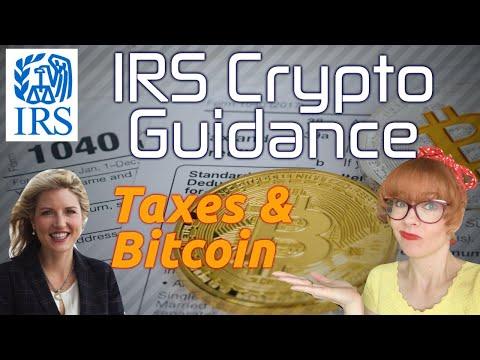 Crypto Taxes:  The New IRS