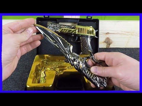 Boncuk Atan Metal Tabanca Ve Bıçak Seti -Tetikçi - Efsane Silahlar - Sam's Toys