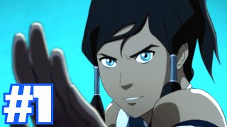 LEGEND OF KORRA - Part 1 Walkthrough (PS4 Gameplay)
