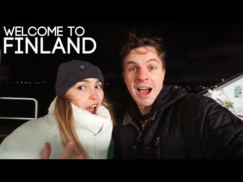 HELLO HELSINKI - Our First Day in Finland