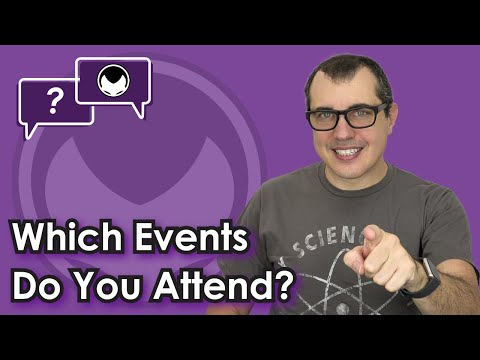 🎬 Aantonop: Bitcoin Q&A: Which events do you attend?