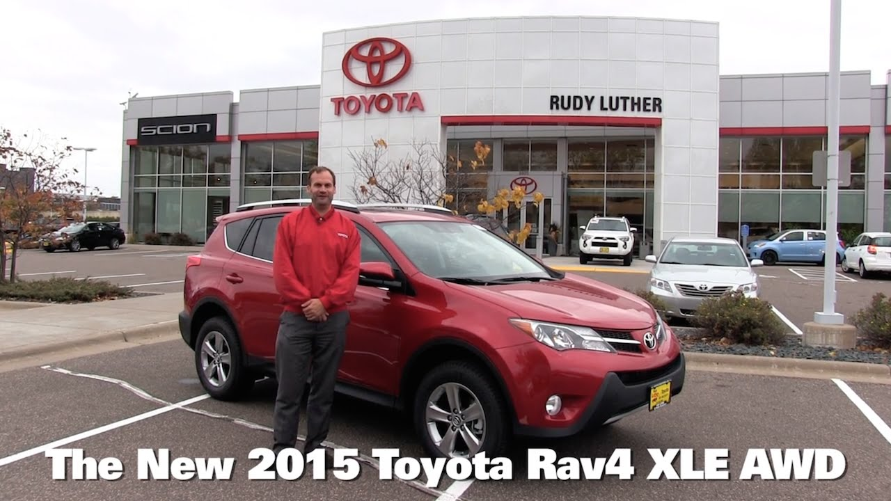 Toyota Brooklyn Park >> The New 2015 Toyota Rav4 Xle Awd Minneapolis St Paul Golden Valley Brooklyn Park Mn Walk Around