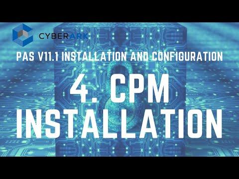 CyberArk PAS (CPM) Installation - Part 3