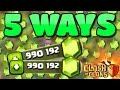 Clash of Clans - 5 BEST WAYS TO SPEND GEMS (ULTIMATE GEM GUIDE) CLASH OF CLANS