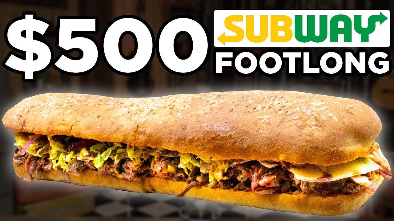 $500 Subway Footlong Taste Test