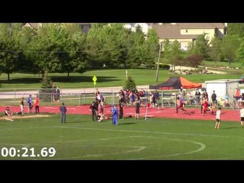 2016-05-12 UE Conference Boys FrSo 4x100m