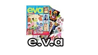 Revistas E.v.a Eva Artesanato Coleção Arte Revista