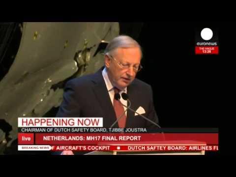 LIVE: MH17 final report confirms Buk missile hit plane, Netherlands