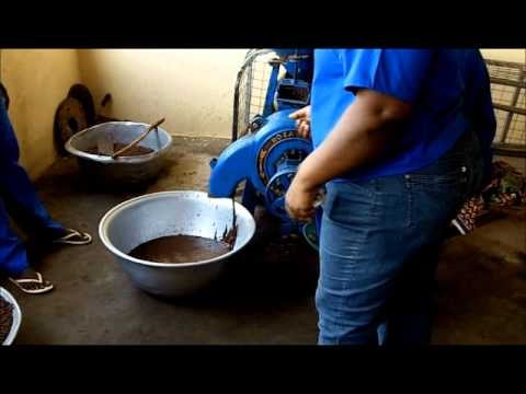 A Visit to Ojoba Collective Womens Shea Cooperative Ghana, West Africa.wmv