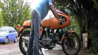 Start procedure 1981 900ss Ducati bevel