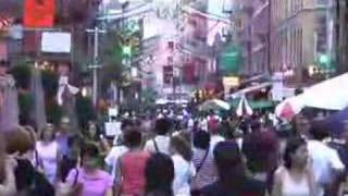Streets of Little Italy on 7/27/07