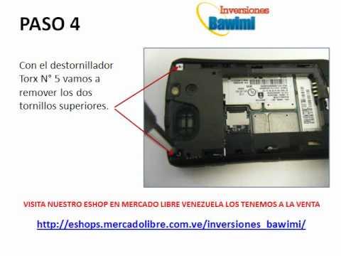Desarme Blackberry Curve 8300 / 8310 / 8320 / 8330