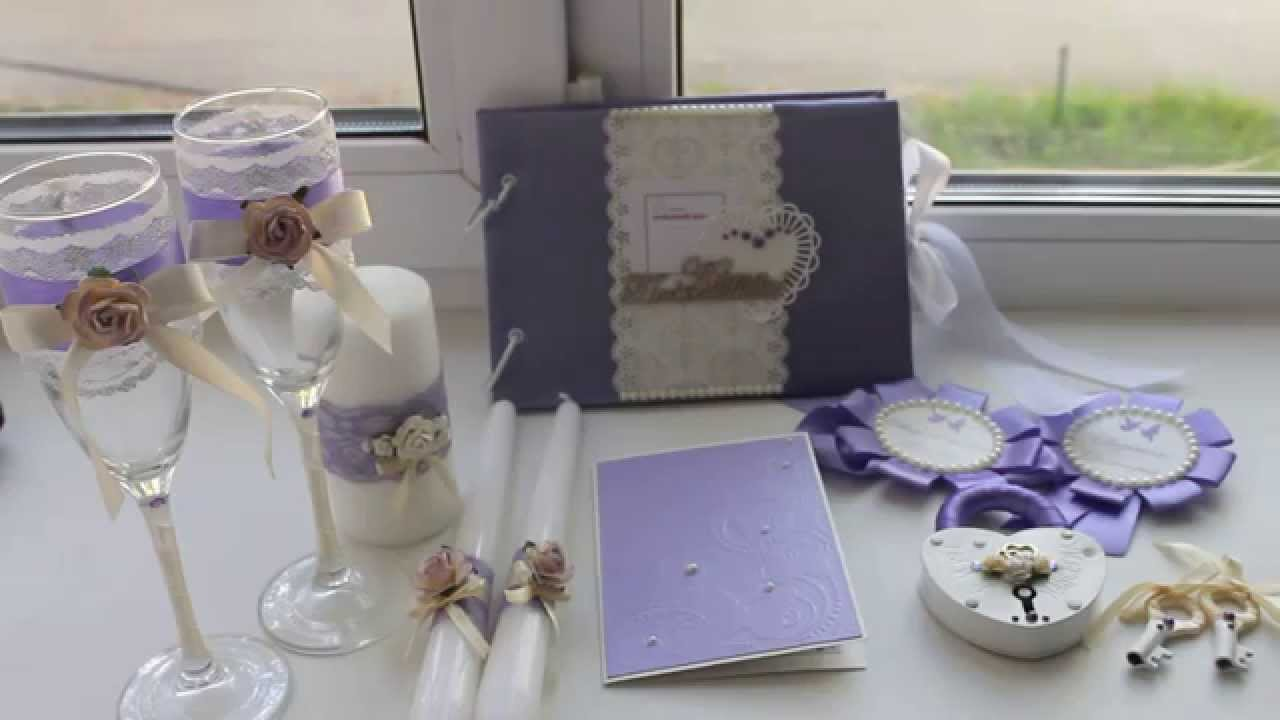 Свадебные аксессуары своими