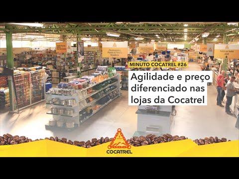Agilidade e preço diferenciado nas lojas da Cocatrel