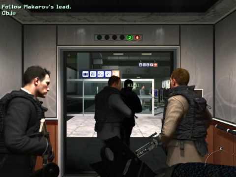 Modern Warfare 2 - Mission 4 - No Russian (airport mission)