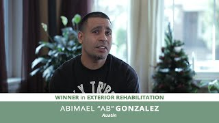 "Meet Abimael ""AB"" Gonzalez, Exterior Rehab Winner 