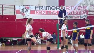 Voley Femenino Cat. Sub-18 River vs Boca