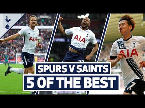 Kane, Son, Lucas & Eriksen   5 OF THE BEST HOME GOALS V SOUTHAMPTON